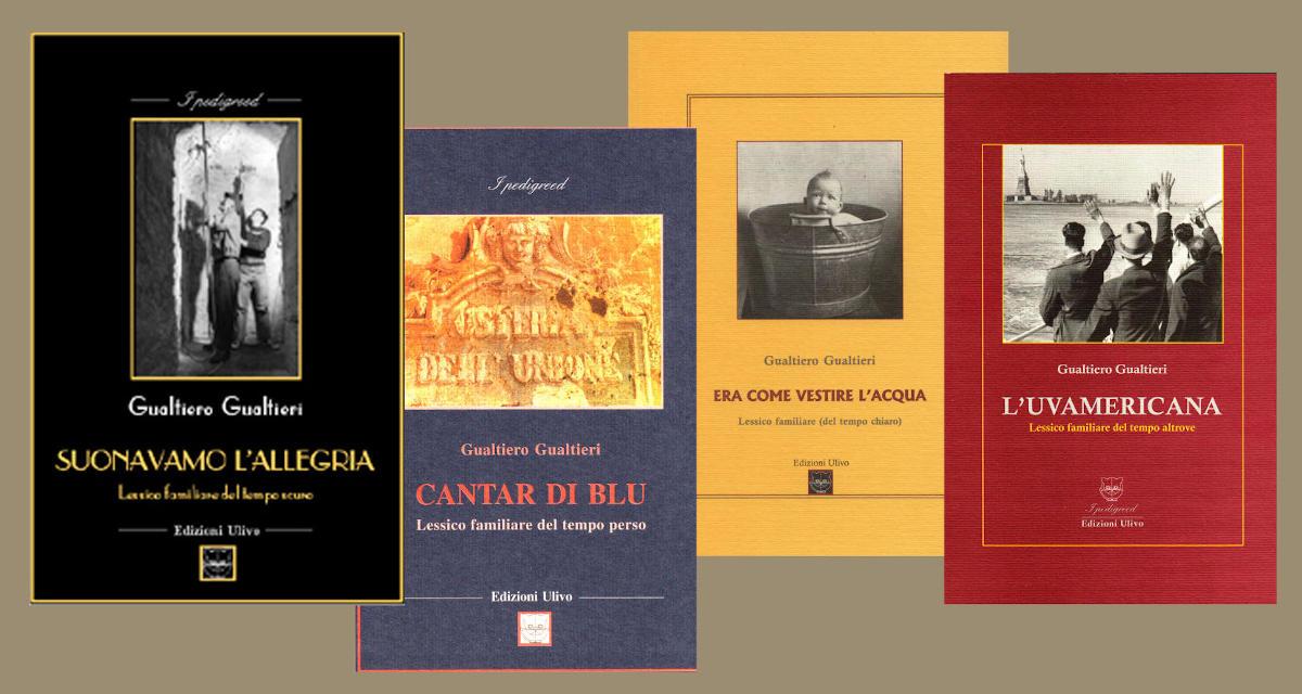 Copertine di libri di Gualtiero Gualtieri.