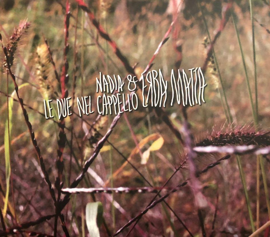 """Erba matta"" - Copertina del CD di Nadia Gabi"