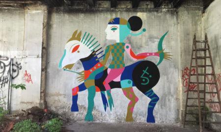 "Gio Pistone, ""ERDÖ"", residenza d'arte, Cavallerizza Irreale, Italia - 2019"