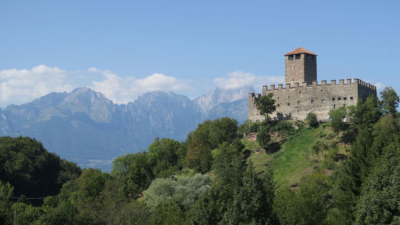 Lungo il Piave - Castello di Zumelle