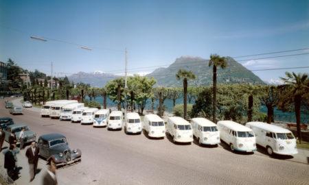 Vincenzo Vicari - Camion della fabbrica di gelati Luganella, 1960