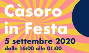 Casòro in Festa - Locandina 2020