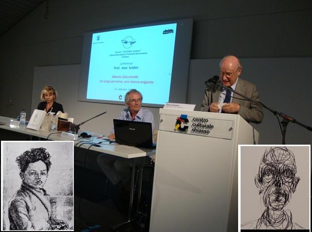 """Circolo """"Cultura insieme"""" di Chiasso - Serata su Alberto Giacometti"""
