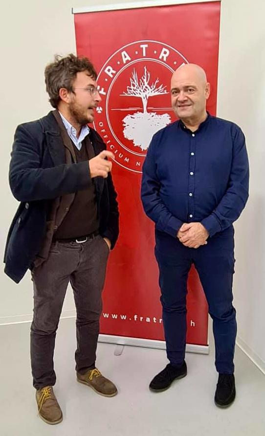 Diego Fusaro con Roger Etter