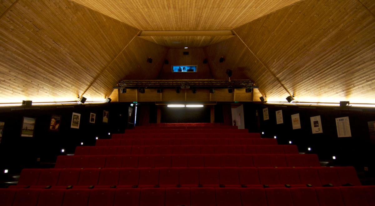 Sala del Cinema Teatro di Acquarossa