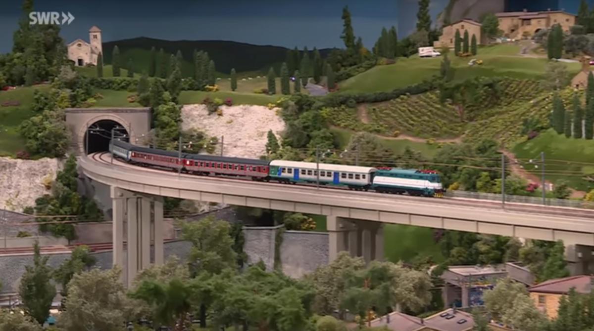 Miniatur Wunderland - Bella Italia - Treno italiano