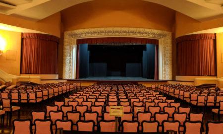 Palcoscenico di un teatro