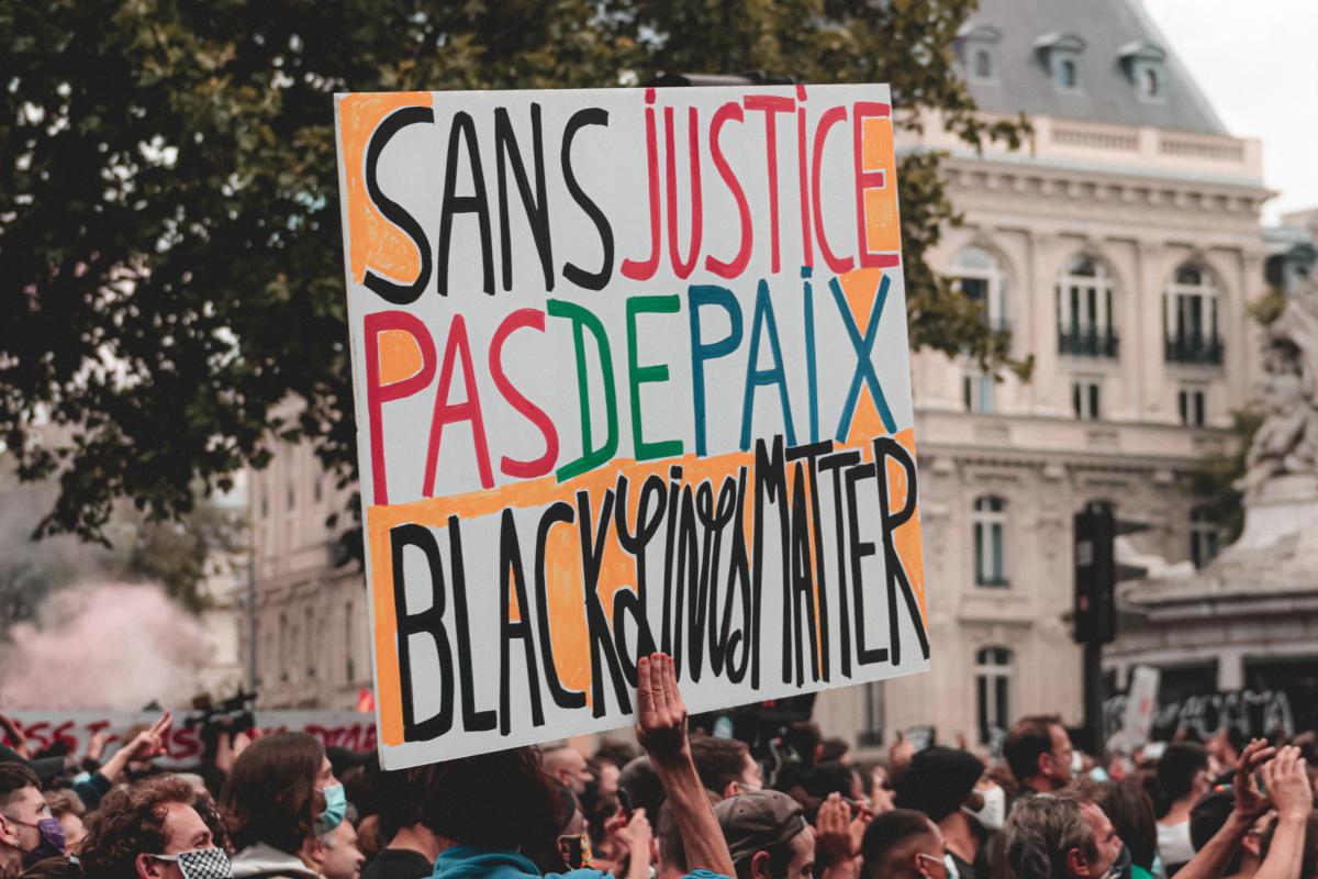 Sans justice pas de paix - Black Lives Matter