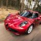 Automobile sportiva Alfa Romeo
