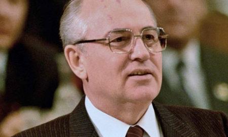 Mikhail Gorbaciov in un'immagine del 1987