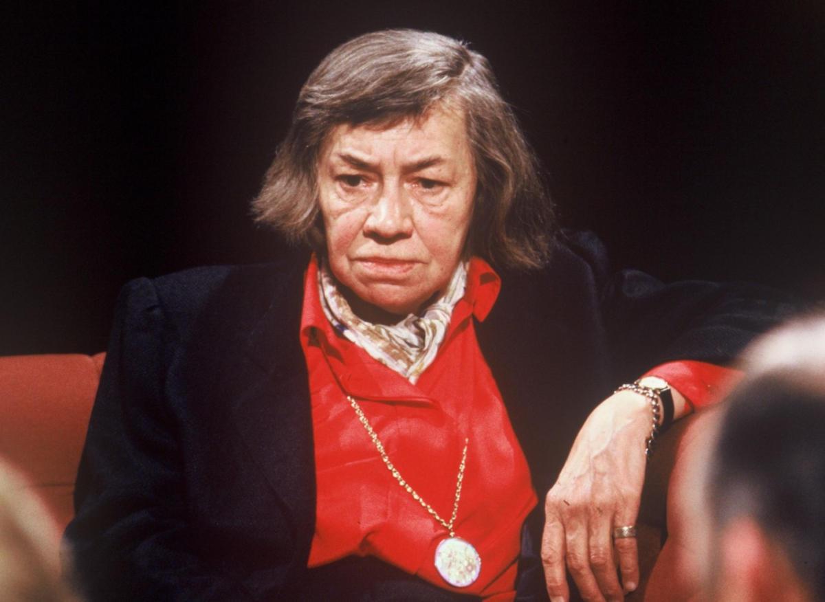 Patricia Highsmith in un'immagine del 1988