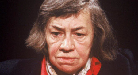 Patricia Highsmith in un'immagine del 1988.