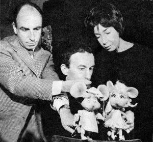 Guido Stagnaro, Topo Gigio, Maria Perego