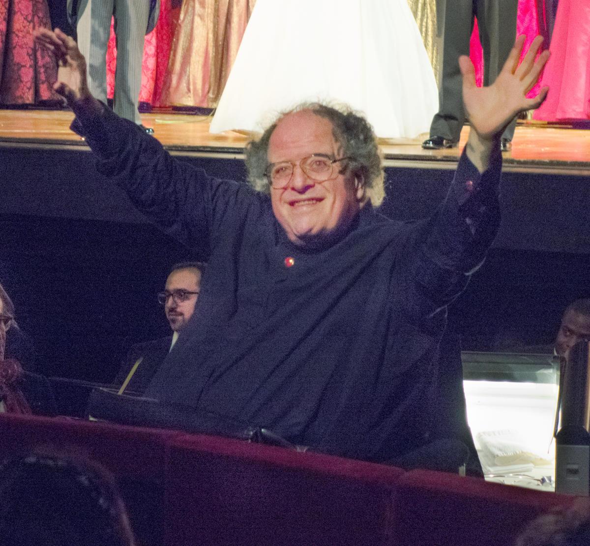 James Levine alla Metropolitan Opera House di New York in un'immagine del 2013