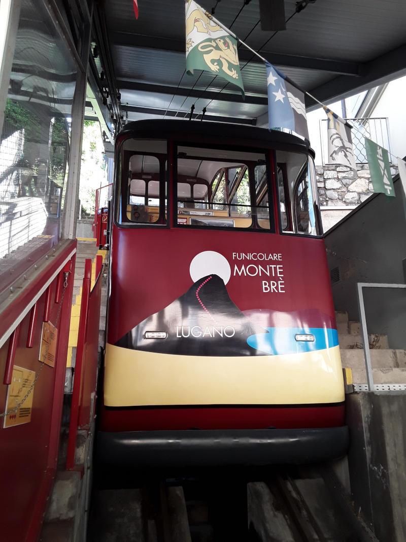 Monte Brè - La funicolare
